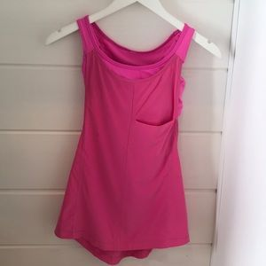 Lululemon 2 in 1 tank top Size 2